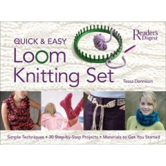 The Quick and Easy Loom Knitting Set