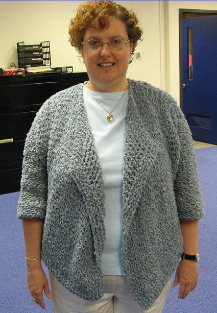 Swing Jacket Pattern for Knifty Knitter