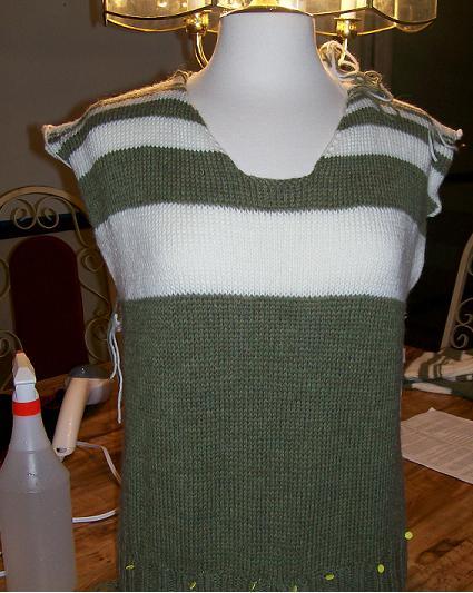 Fibonacci Flip sweater in progress!