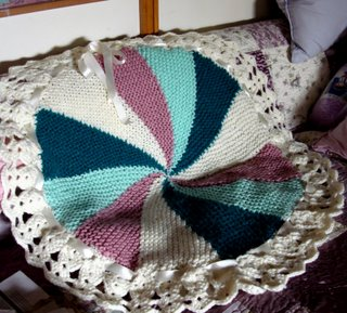Pinwheel Blanket by Maria
