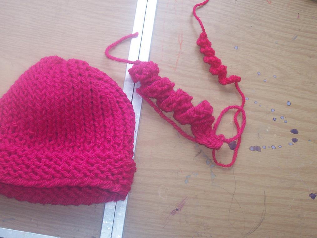 Loom Knit Corkscrews
