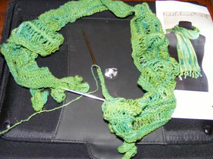 Morehouse Merino Fiddlehead Scarf
