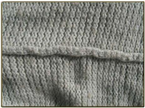 Slipped stitch crochet seam