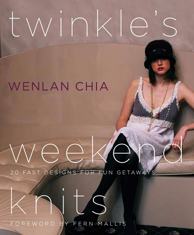 twinkles weekend knits cover Designer Knitting