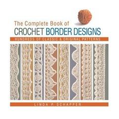 crochet border book
