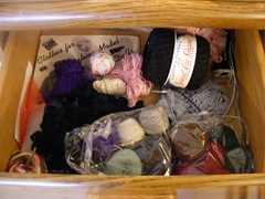 Lots of fingering weight yarn to knit for Blythe dolls!