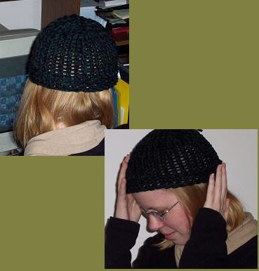 knit hat too small